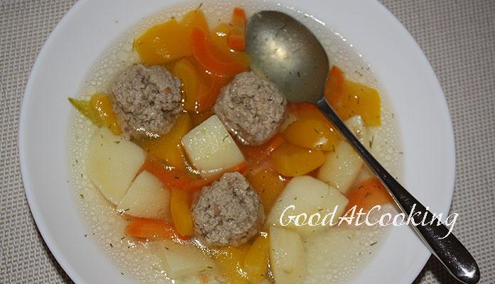 Рецепты супа с лапшой и фрикаделек