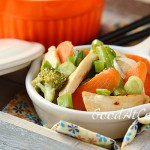 Стир фрай из медовой курицы с овощами
