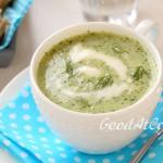 Холодный огуречно-йогуртовый суп