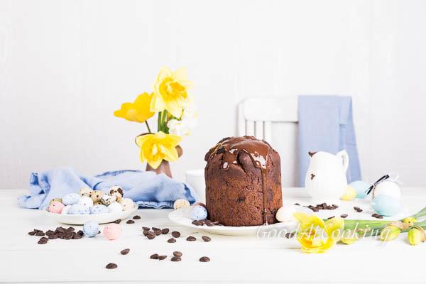 Рецепт шоколадного пасхального кулича