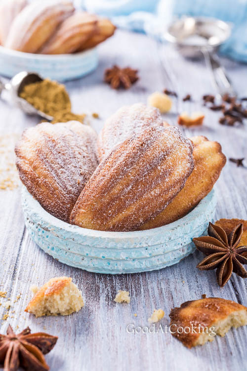 Рецепт анисовых мадленок с гречневой мукой с пошаговыми фотографиями