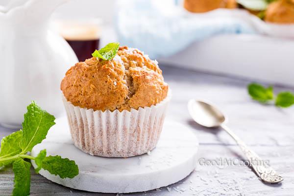 Рецепт маффинов с корицей и кокосом с пошаговыми фотографиями
