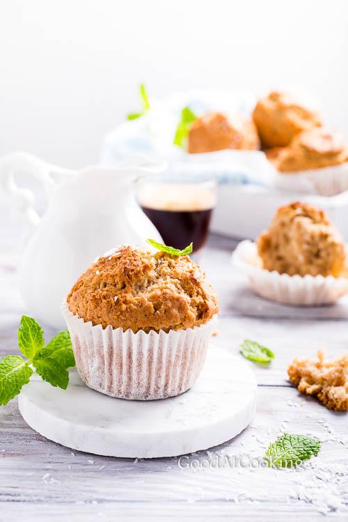 Рецепт маффинов с корицей и кокосом с пошаговыми фото