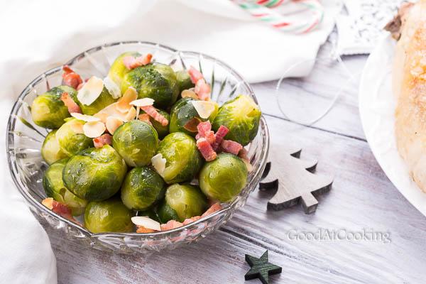 Рецепт брюссельской капусты с беконом с пошаговыми фото