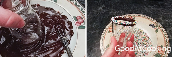 Рецепт мусса из шоколада таблерон