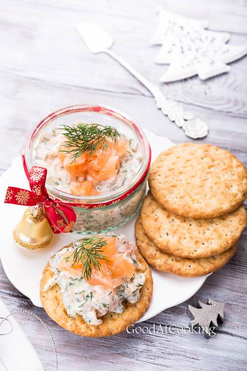 Рецепт риета из лосося