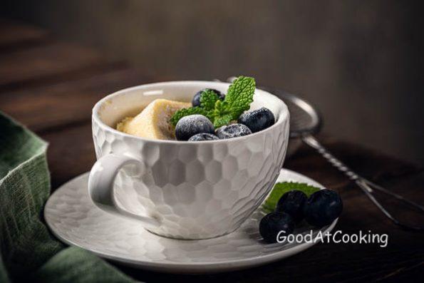 Рецепт кекса в чашке из микроволновки с пошаговыми фото
