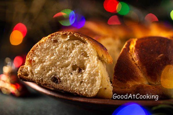 Рецепт Рождественского калача